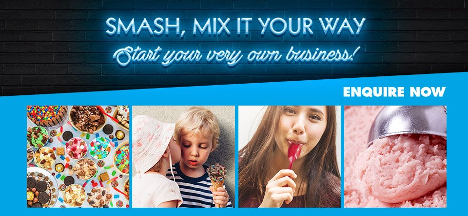 Smash, mix it your way